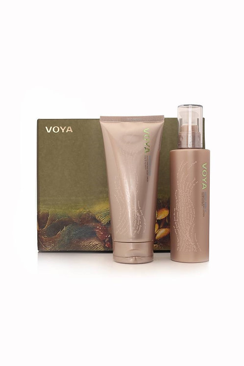 Voya Body Gift set - boyd wash + moisturiser (200ml+200ml