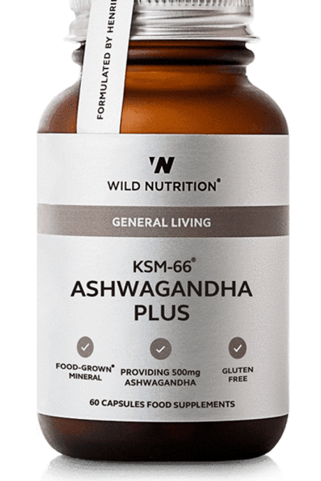 Wild Nutrition Ashwagandha Plus 60 caps