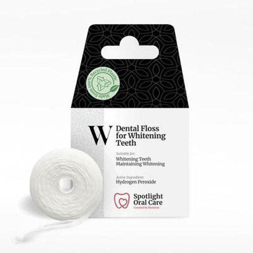 Spotlight Dental floss for whitening teeth
