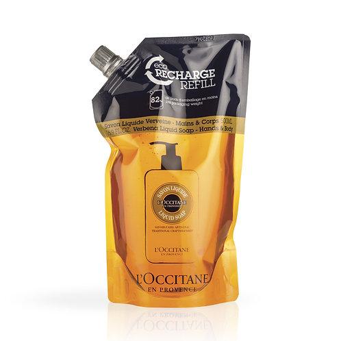 Loccitane Shea Verbena Hands & Body Liquid Soap Refill 500ml