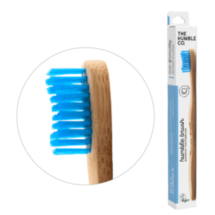 Humble Bamboo toothbrush medium blue