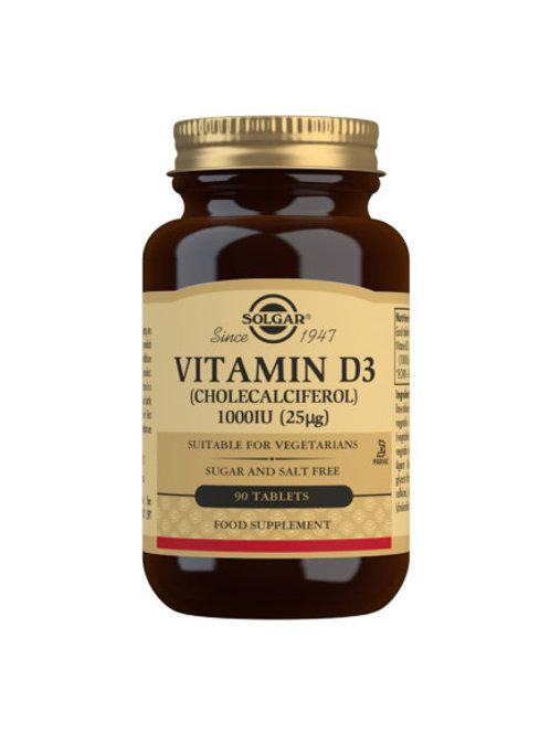 Solgar Vitamin D3 1000IU90 tablets