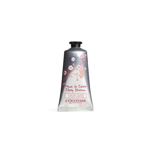 Loccitane Cherry Blossom Petal-Soft Hand Cream 75ml