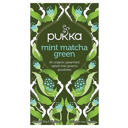 Pukka Mint Matcha Green 20teabags