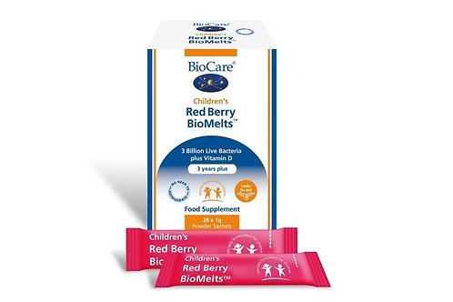 Children's Red Berry BioMelts - 28 Sachets