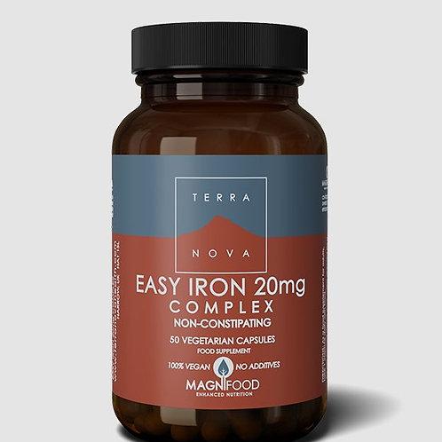 Terra NovaEasy iron complex 20 mg 50 caps