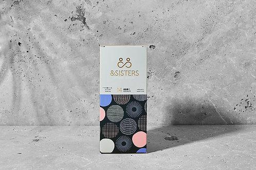 &Sisters Eco-App Tampons, Medium, 14