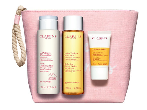 Clarins Cleansing bag for dry skin