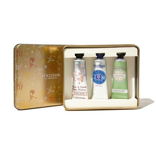 Loccitane Hand cream Trio collection