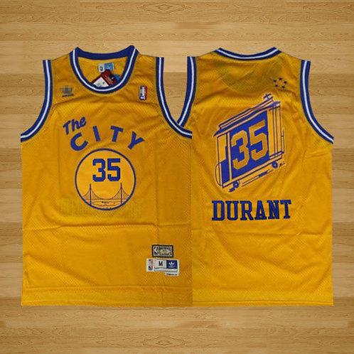 Men Kevin Durant Throwback Gold