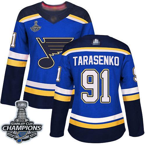 Women Vladimir Tarasenko Stanley Cup Champions Home, Road, Alternate