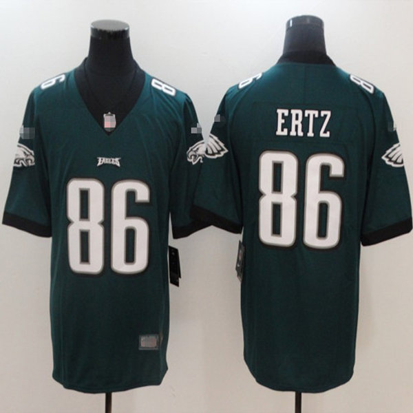 brand new 59594 a513a Youth Zach Ertz Limited Midnight Green, White, Black, Rush, Inverted |  YUKIJERSEY