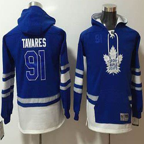 Men John Tavares Hoodie Blue