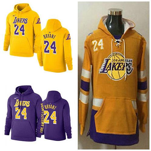 Men Kobe Bryant Icon Edition Hoodie Gold, Purple