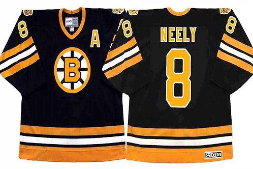 Men Cam Neely Throwback 1990 Black, White