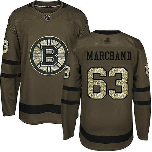Youth Brad Marchand Olive, Purple, Camo
