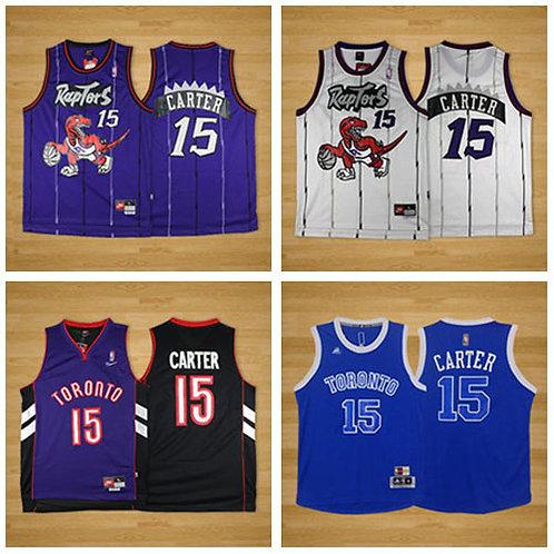 Men Vince Carter Throwback Purple, White, Blue, Black