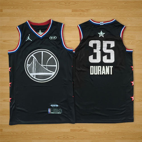 Men Kevin Durant 2019 Game Black and White