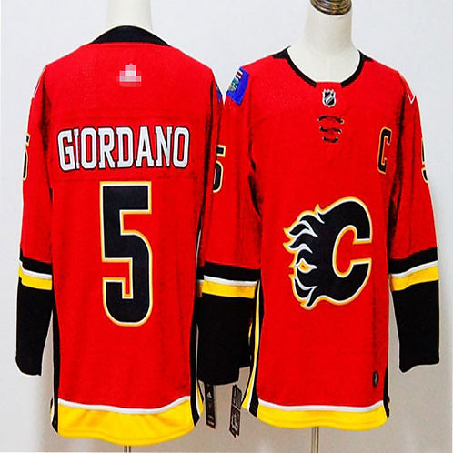 Youth Mark Giordano Red, White, Classic, Alternate Red