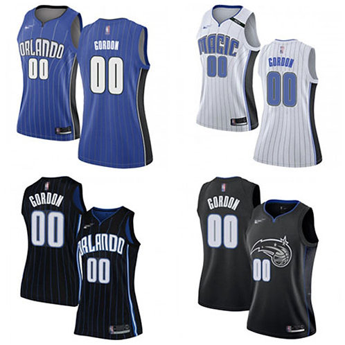Women Aaron Gordon Icon Edition Blue, White, Black