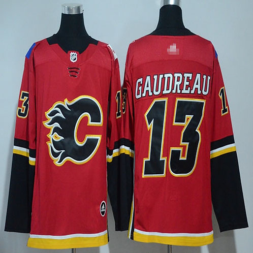 Men Johnny Gaudreau Red, White, Classic, Alternate Red