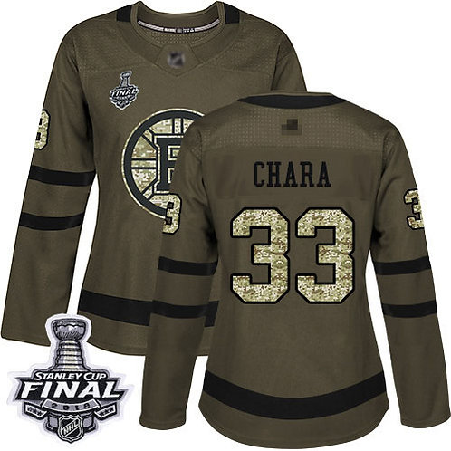 Women Zdeno Chara Stanley Cup Final Olive, Purple, Camo