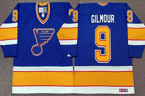 Men Doug Gilmour 9 Throwback White