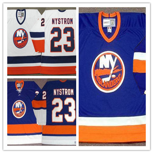 Men Bob Nystrom Throwback Blue, White