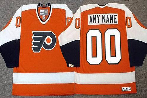 Men Custom Throwback 1970 Orange, White