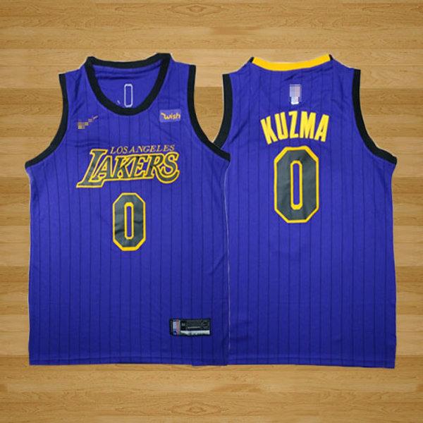 huge selection of 54830 6af6a Men Kyle Kuzma City Edition Purple, Black | YUKIJERSEY