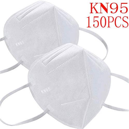 KN95 5-Layer Dust Masks Full Face Mask (150packs)