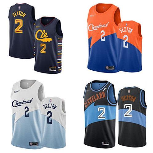 Men Collin Sexton City Edition Navy Blue, Blue/Orange, White, Black