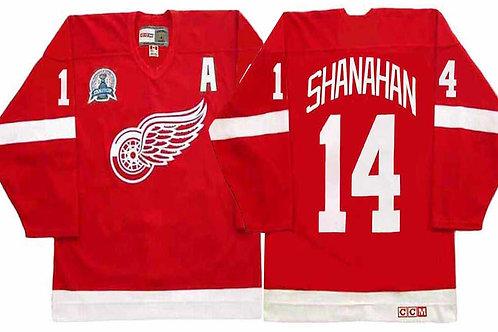 Men Brendan Shanahan Throwback Red, White
