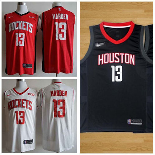 Youth James Harden Icon Edition Red, White, Black