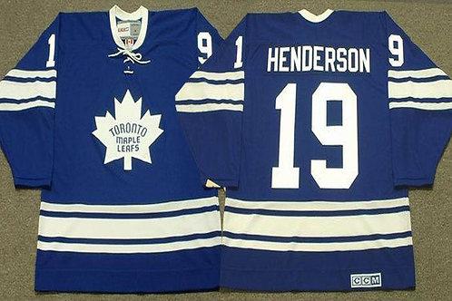 Men Paul Henderson Throwback Blue, White