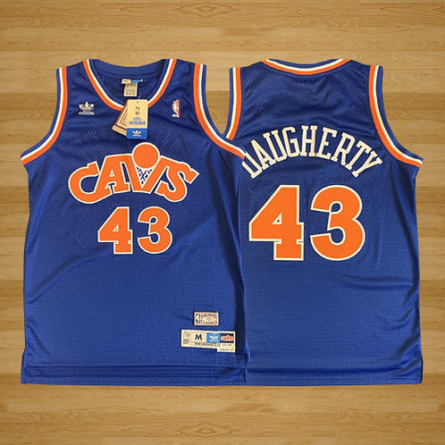Men Brad Daugherty Throwback Blue