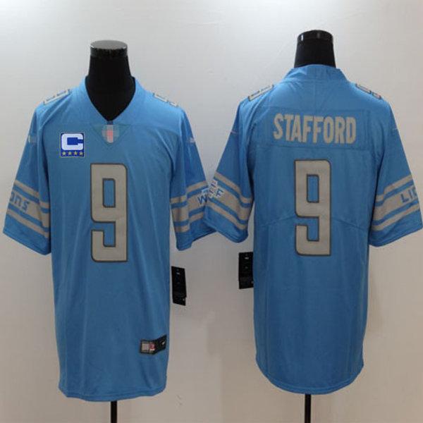 san francisco 72dd5 13266 Youth Matthew Stafford Vapor Limited C Patch Blue, White, Alternate, Color  Rush | YUKIJERSEY
