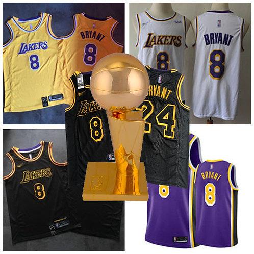 Youth Kobe Bryant 8 Icon Edition Gold, White, Black, Purple