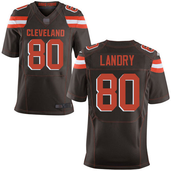 the latest ec9da 133b8 Men Jarvis Landry Vapor Elite Brown, White, Orange | YUKIJERSEY