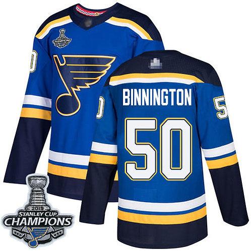 Men Jordan Binnington Stanley Cup Champions Home, Road, Alternate, Classic