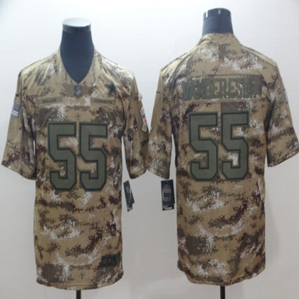 competitive price 31650 a9bd8 Youth Leighton Vander Esch Salute to Service Camo, Olive | YUKIJERSEY