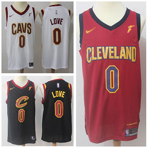 Men Kevin Love Icon Edition Maroon, White, Black