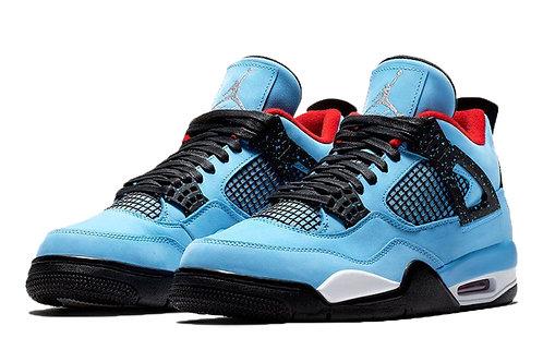 Men Super quality Air 4 Retro Blue