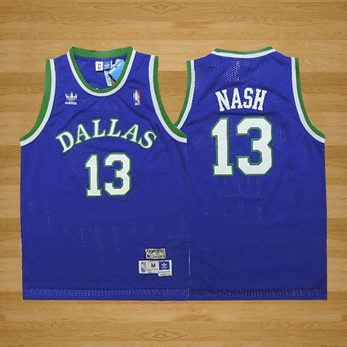 Men Steve Nash Throwback Blue
