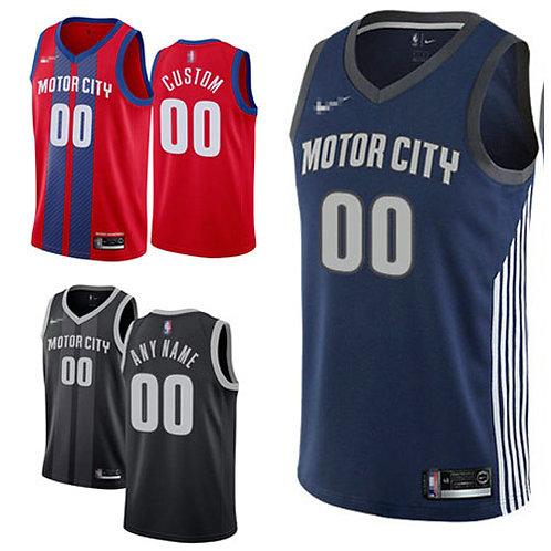 Men Custom City Edition Red, Navy Blue, Black