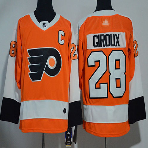 Men Claude Giroux Orange, White, Alternate, Stadium Series