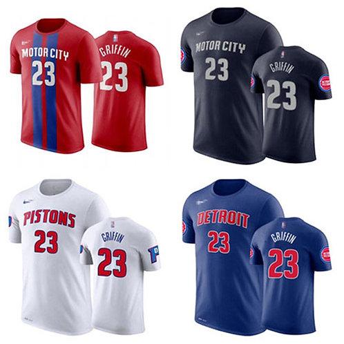 Men Blake Griffin T-Shirt Red, White, Navy Blue, Royal Blue