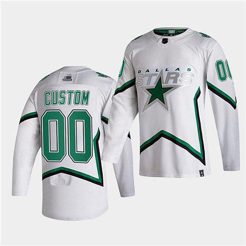 Men Custom 2021 Reverse Retro White