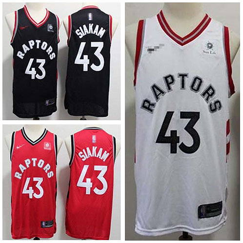 Youth Pascal Siakam Icon Edition Black, White, Red