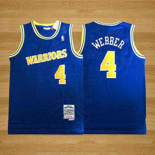 Men Chris Webber 1993-94 Throwback Blue